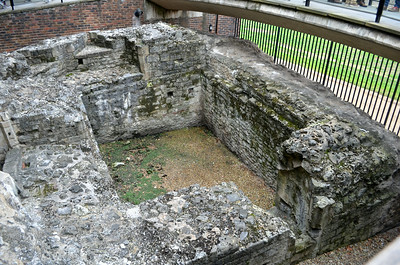 Medieval Gate from the Roman London Wall