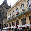Gothic Prasna Brana (Powder Tower) and Municipal Hall, Prague