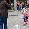 Don't Burst My Bubble, Wenceslas Square, Prague