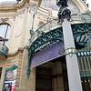 Art Nouveau Entrance to the Obecni Dum (Municipal House and Concert Hall),  Prague