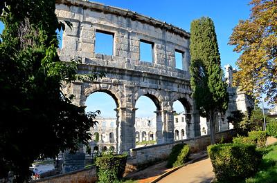 Old Roman Amphitheater