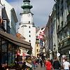 View Toward St. Michael's Gate, Bratislava