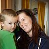 Our Hostess Anna  and Her Son Daniel, Bratislava
