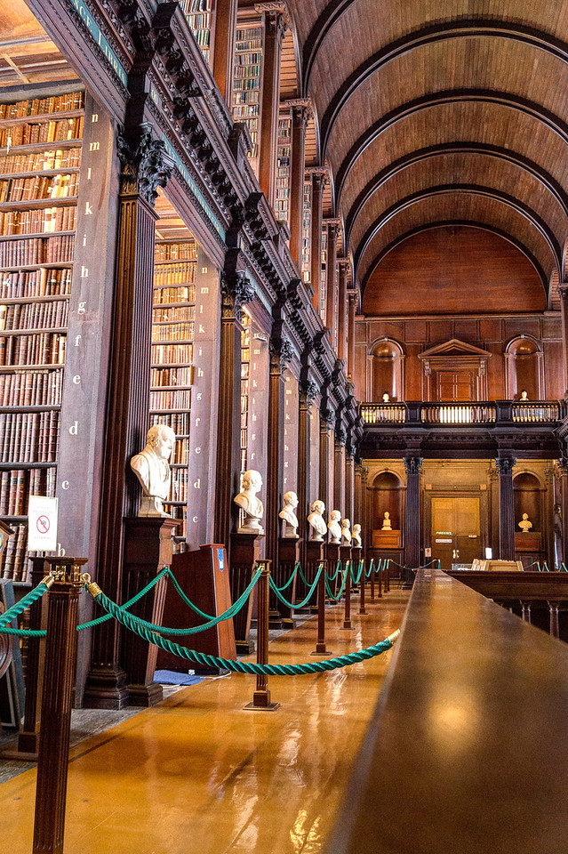 The Long Room - Ireland's version of our Library of Congress