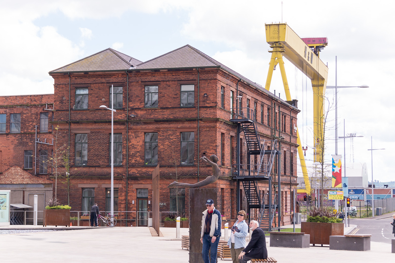 Office where the Titanic was designed in Belfast
