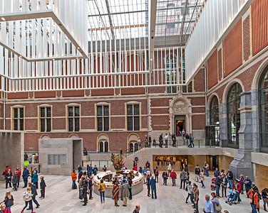 The museum's main lobby.