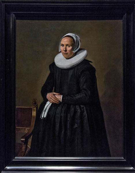 """""""Portrait of Feyntje van Steenkiste,"""" F. Hals, 1635."""