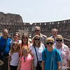 The Janz/Schumacher clan at the Colosseum