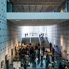 Acropolis Museum - entering the start of the displays