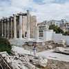 "Hadrian's Library, Monastiraki <br> <a href=""https://en.wikipedia.org/wiki/Hadrian%27s_Library"" target=""_blank"">Hadrian's Library</a>"