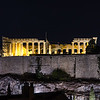 Night time Parthenon from the apartment