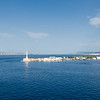 """Messina harbour and the Strait, narrowest point between Sicily and mainland Italy <br> <a href=""""https://en.wikipedia.org/wiki/Strait_of_Messina"""" target=""""_blank"""">Strait of Messina</a>"""
