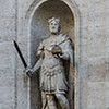 "<br> The Church of San Luigi dei Francesi:     <a href=""https://en.wikipedia.org/wiki/Charlemagne"" target=""_blank"">Charlemagne / Charles the Great</a>"