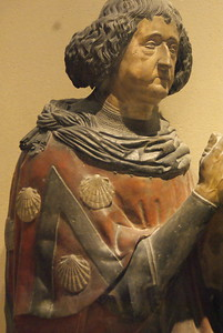 Bust of Philippe de Commynes in prayer