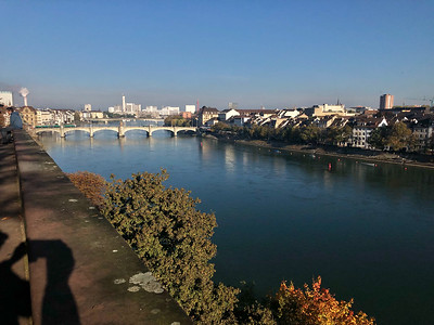 The Rhine River, Basel