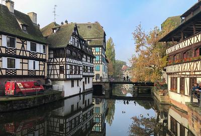 Swinging bridge, Strasbourg