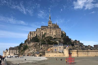 Mont Ste Michel monastery