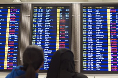 Hong Kong flight cancellations
