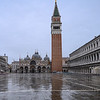St. Mark's Square on a Rainy Morning