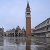 St. Mark's Square on a Rainy Morning