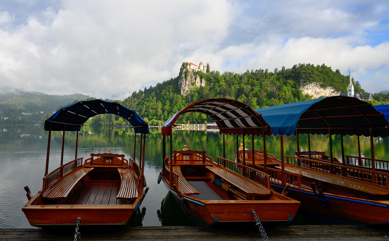 Boats with Castle