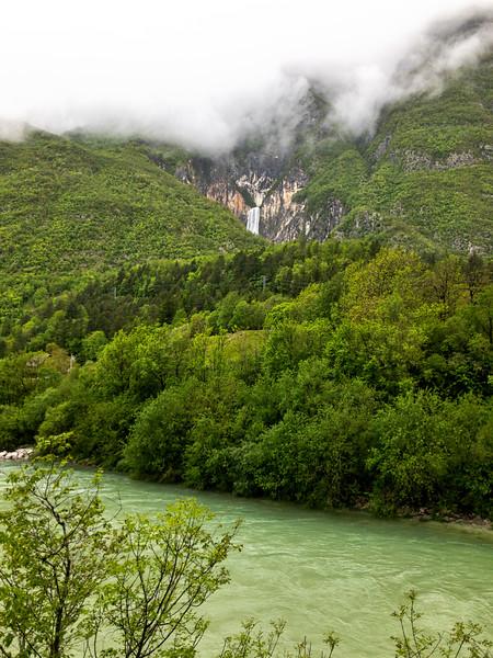 Soca River and Waterfall (Slap)