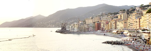 Camogli Beach Panorama