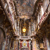 Baroque style church, Munich, Germany