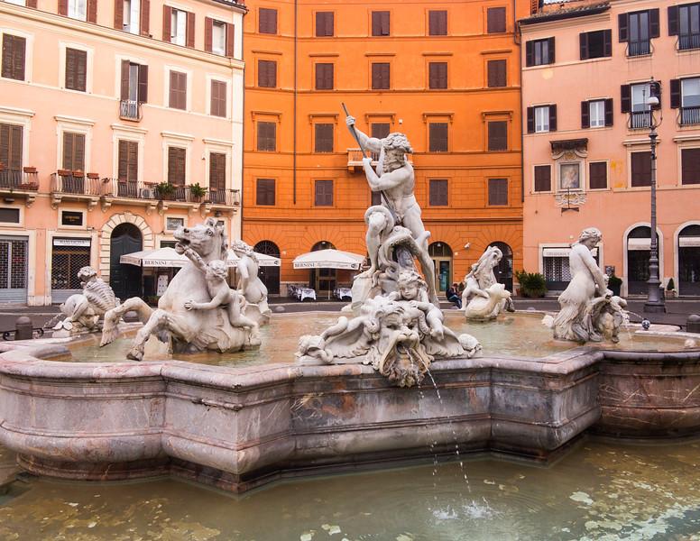 Piazza Maddalena, Rome, Italy