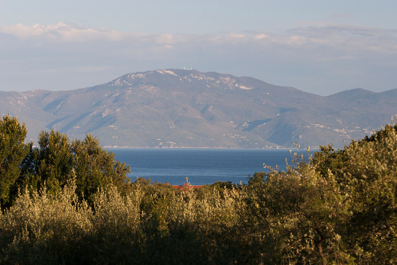 View of Kvarner Bay from Zgombici