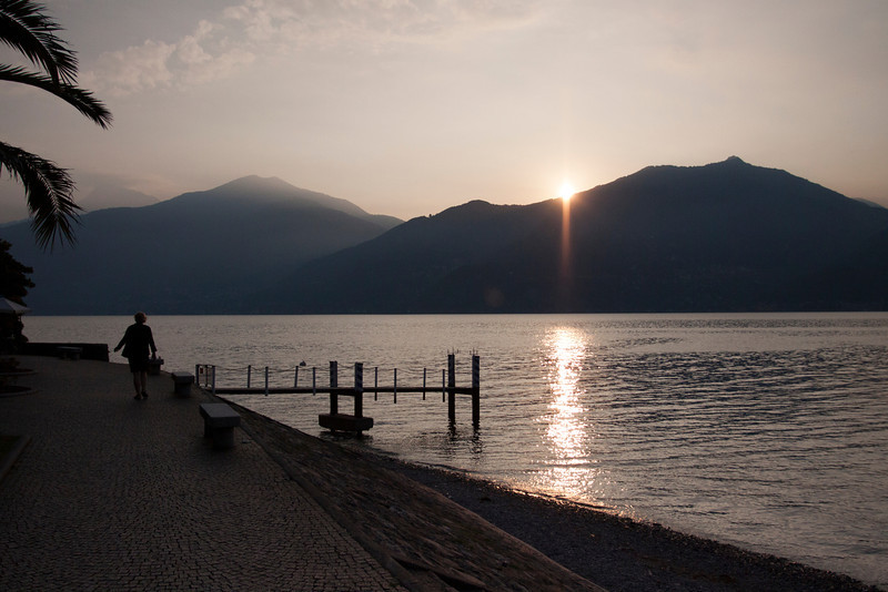 Sunrise over Lake Como - Menaggio.