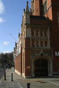 A building seen while walking down the Embankment.