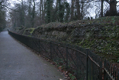 Roman wall from Verulamium
