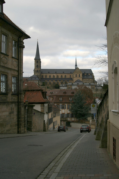 The road to the Michaelsberg, Bamberg