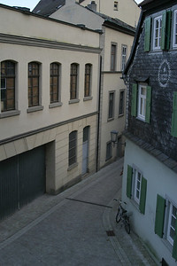 Looking down from the Residenzstraße, Bamberg