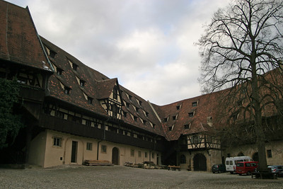 Alte Hofhaltung, Bamberg, the old bishop's residence and administration building, dating to 1591