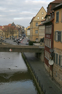 The Untere Brücke from the Obere Brücke, Bamberg