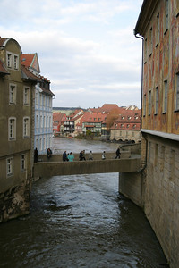The Untere Brücke, from the Obere Brücke, Bamberg