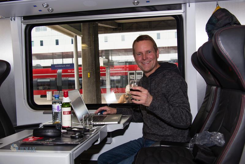 Train from Salzburg to Bern