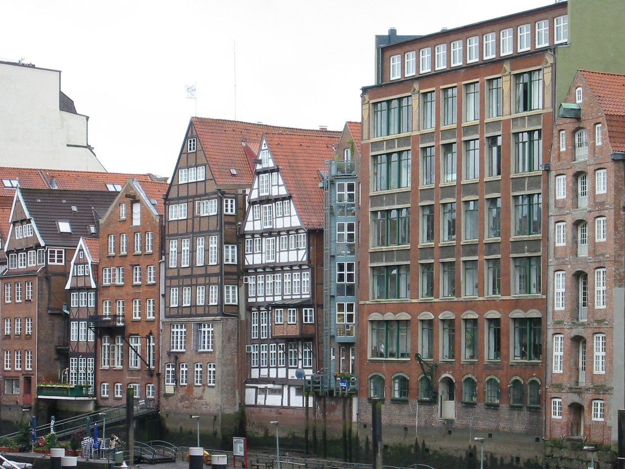 Canal area, Hamburg