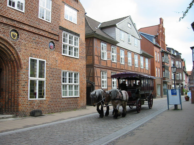 "House am Berg, Lüneburg. My ""4th back"" great grandfather, Georg Albrecht Roscher was born there on August 9th, 1732."