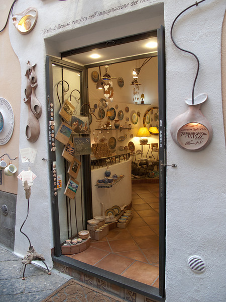 Storefront in Sorrento, Italy