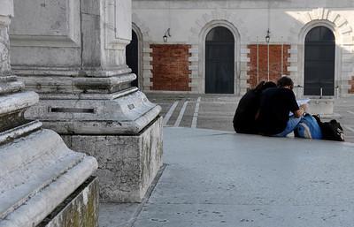 At San Salute, Venice