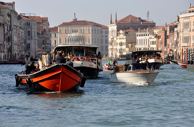 Venice, busy canal