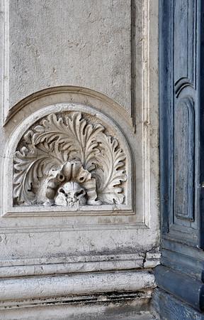 Exterior church detail
