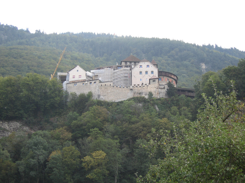 Castle in Vaduz, Liechtenstein