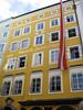 Mozart's Geburtshaus (birthplace)<br /> Salzburg, Austria.