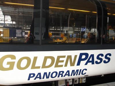 October 2--Golden Pass from Luzern to Murren