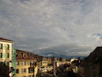 October 6, Lausanne and Chateau de Chillon