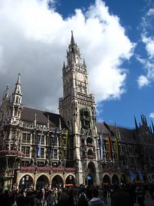 Neues Rathaus (New Town Hall) in Munich.